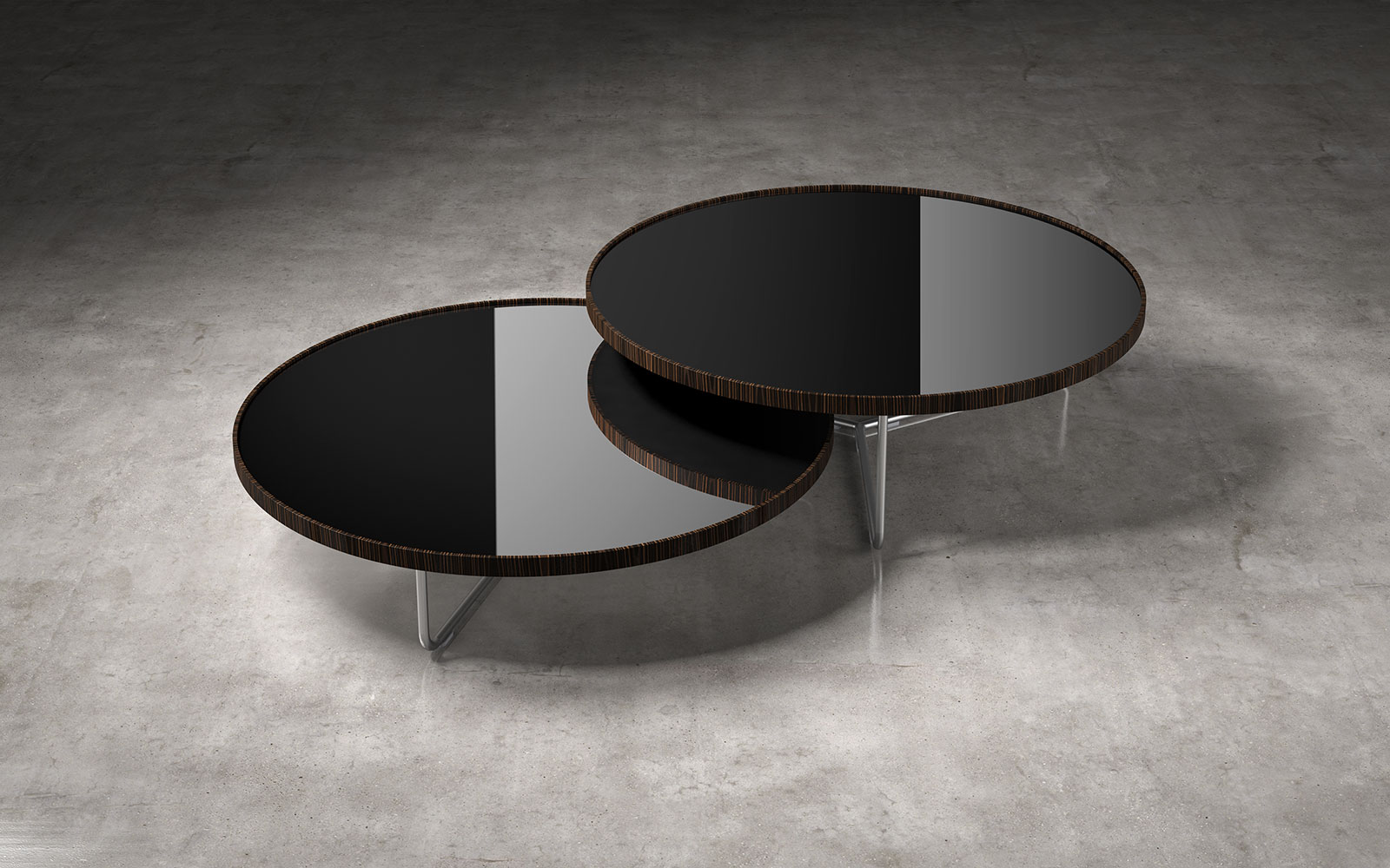Astonishing Adelphi Nesting Coffee Tables In Lacquer Kaza Modern Furniture Caraccident5 Cool Chair Designs And Ideas Caraccident5Info